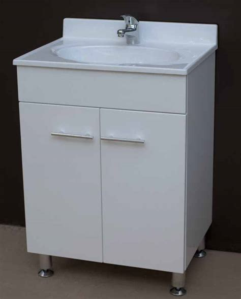 bathroom vanity units on legs daedalus wpl600 600mm bathroom vanity unit with acrylic