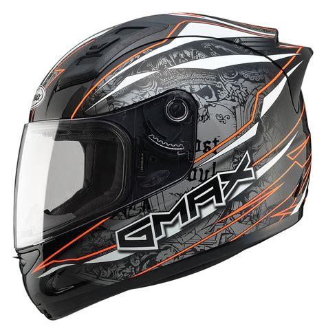 desain helm full face gmax gm69 mayhem helmet revzilla