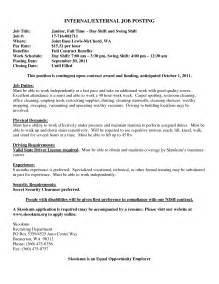 Cover Letter For A Posting by Application Letter For Posting