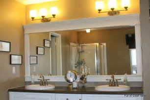 builder grade bathroom mirror of great ideas framing a builder grade mirror that