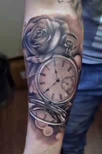 34 superb pocket watch tattoo designs tattooblend