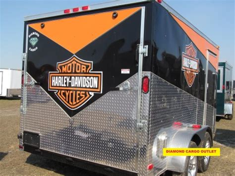 Harley Davidson Trailer Decals by Harley Davidson Stickers 3 Cargo Outlet