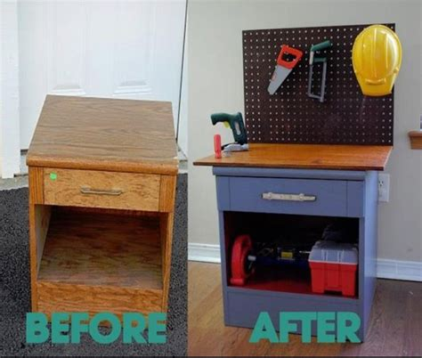 diy kids work bench diy kids workbench playhouse and kids outdoors pinterest
