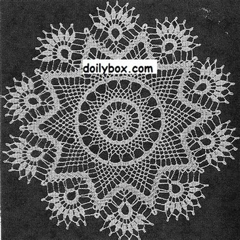 image pattern clustering free crochet patterns cluster doily pattern free crochet