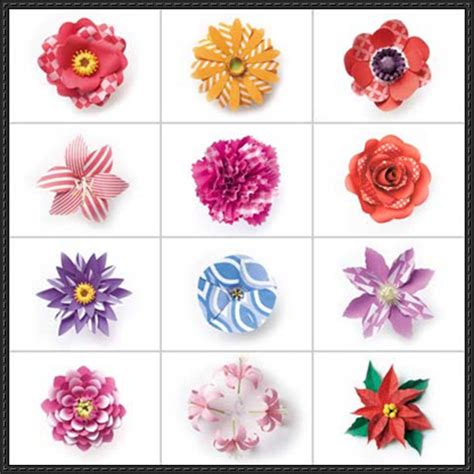 Flower Paper Craft Template - papercraftsquare new paper craft sasatoku s 2015
