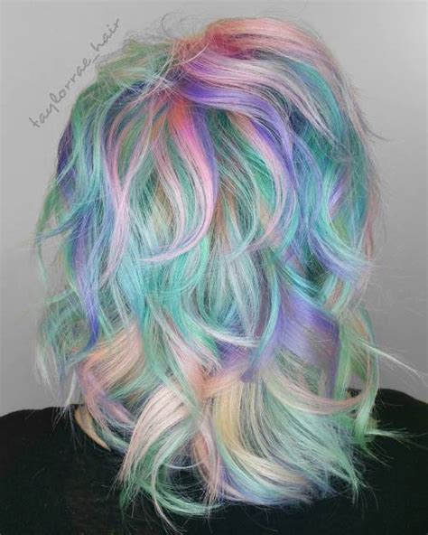 Multi Colored Hairstyles by 20 Styles With Cotton Hair That Are As Sweet As Can Be