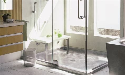 bathroom shower pans custom shower floors gurus floor