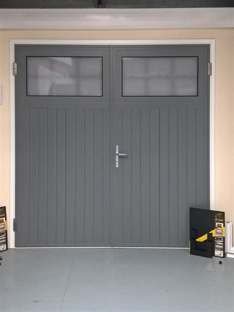 swing garage door swing doors or side hinged garage doors in mansfield