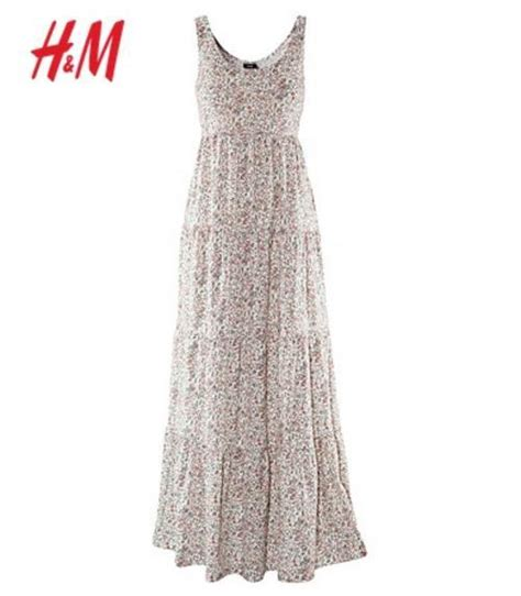 Promo Hm Floral Pastel Dress vintage clothing h m floral tiered maxi dress and