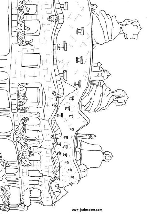 gaudi colouring gaudi barcelona architecture of gaudi pedrera coloring pages ense 241 ando espa 241 ol coloring