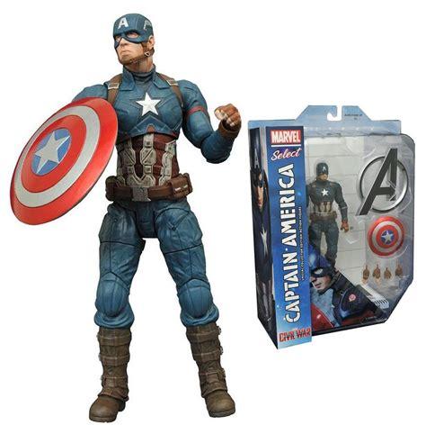 Figure Iron Captain America new marvel select captain america figure civil war