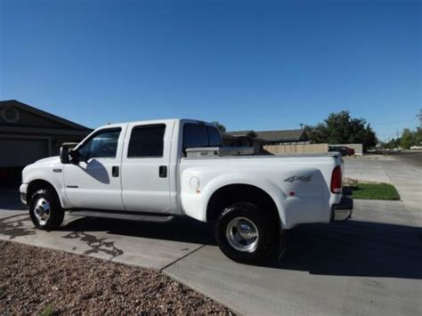 short bed dually buy used 2000 ford f 350 7 3l 4x4 dually crew cab short