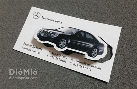 mercedes business card template mercedes business card diomioprint