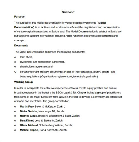 asset management agreement template investment agreement template 14 free word pdf