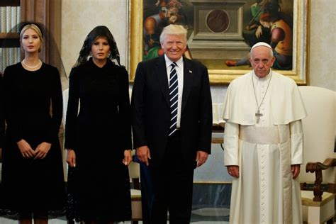 trump pope francis pope francis donald trump viral photo from vatican
