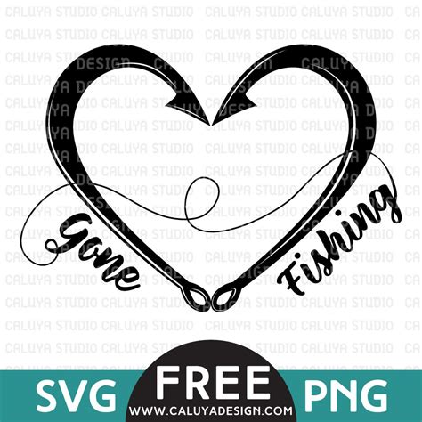 gone fishing free svg amp png amp dxf download by caluya design