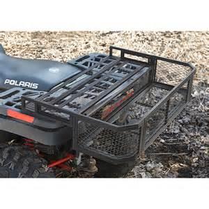 guide gear 174 atv rear drop basket 157841 racks bags at