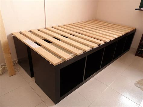 Platform Bed With Storage Underneath Diy Bed Storage Platform Bedrooms Pinteres