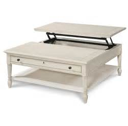 white lift top coffee table country chic white wood square coffee table with lift top