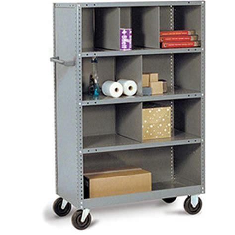 tri boro shelving trucks carts trucks steel shelf tri boro steel shelf trucks with shelf bin dividers