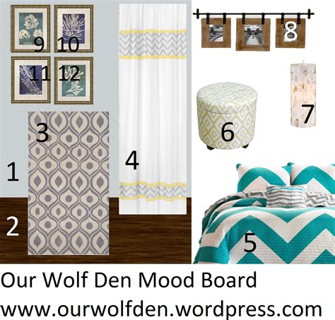 Teal Gray And Yellow Bedroom by Mood Board Grey Teal And Yellow Bedroom Our Wolf Den