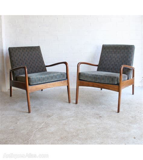 armchair modern antiques atlas a pair of mid century modern armchairs