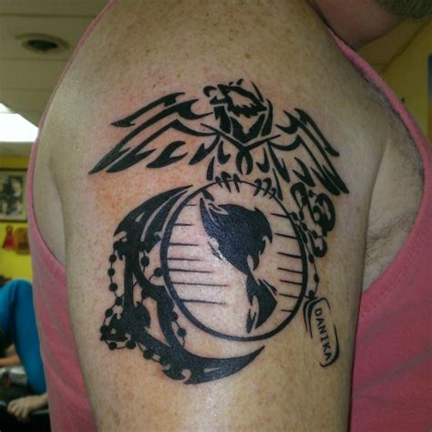 tribal army tattoos 28 marine corps tribal tattoos army marine