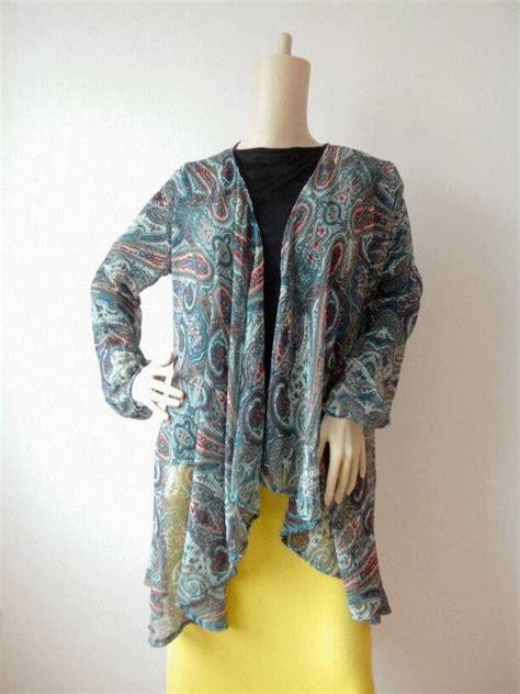 Flowy Cardi Set dianza by izzah 1972 hani kimono cardigan printed