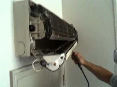 fujitsu mini split fan motor replacement air conditioning wall mount unit blocked scroll fan