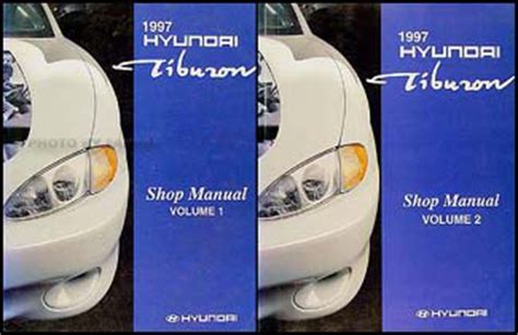 old cars and repair manuals free 1997 hyundai sonata instrument cluster 1997 hyundai tiburon repair shop manual original 2 vol set
