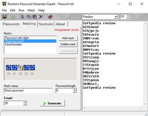 Character Letter Generator Random Password Generator Expert
