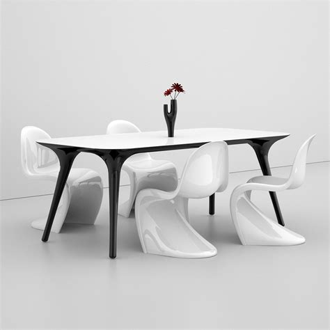modern design dining table pilo made in italy