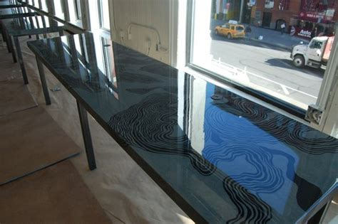 liquid glass bar top table top epoxy resin for home or commercial best quality