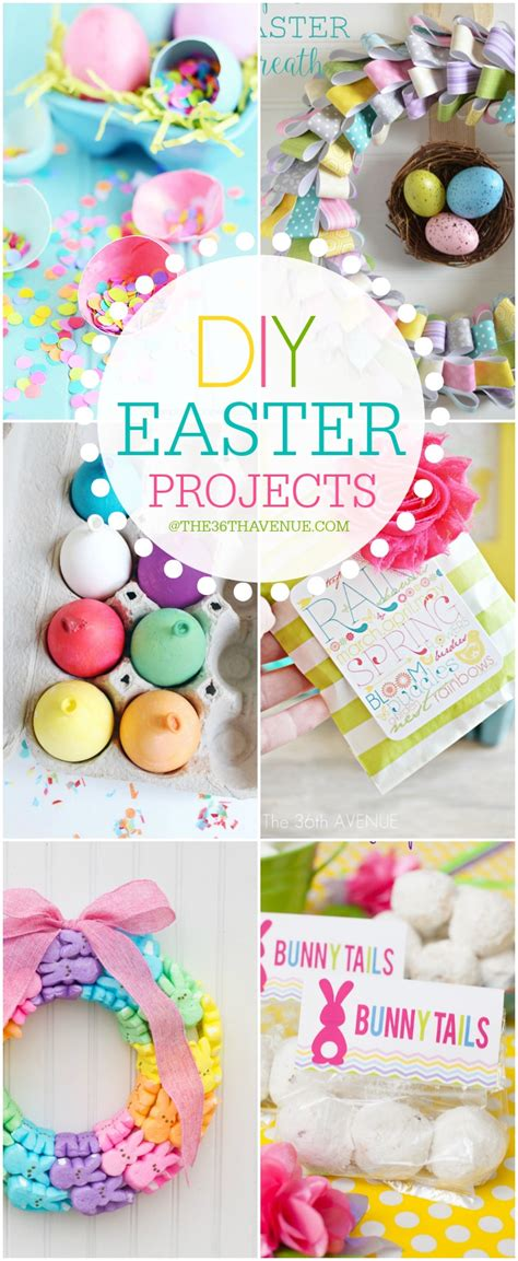 Diy Spring Projects | easter crafts and diy decor ideas the 36th avenue