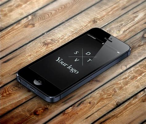 iphone table layout amazing iphone 5 template on a wood table and different