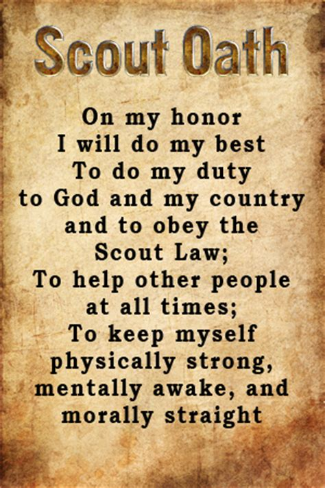 Scout Pledge Eagle Scout Quotes Inspirational