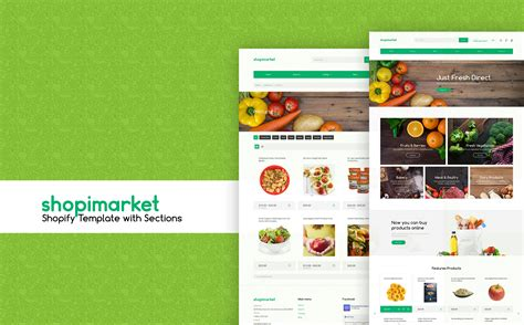shopify grocery themes food store responsive shopify theme 62200