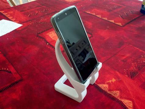 artistic phone stand  model  printable stl cgtradercom