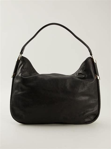Jimmy Choo Dessy Holdall Handbag by Lyst Jimmy Choo Zoe Hobo Shoulder Bag In Black