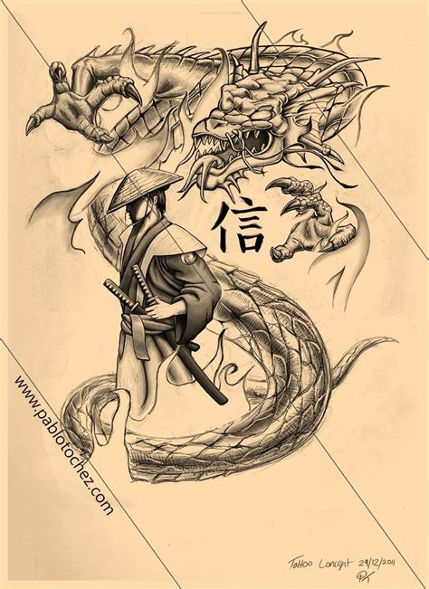 black and grey dragon tattoo designs 60 samurai tattoos ideas meanings and designs