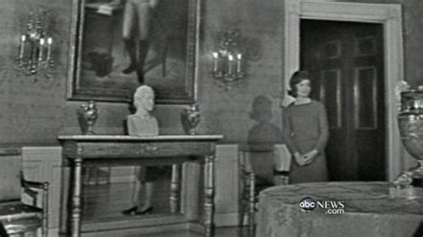 jackie kennedy white house restoration jacqueline kennedy s white house tour video abc news