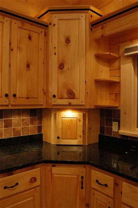 Under Valance Lighting Solid Wood Pine Kitchen Cabinets Appliance Garage