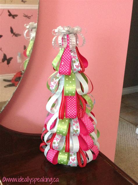 ribbon on christmas tree pictures pinteresthouseproject edition ideally speaking