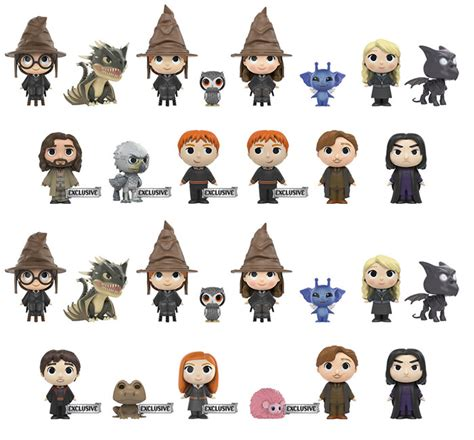 Mystery Minis Harry Potter mystery minis harry potter series 2 plastic and plush
