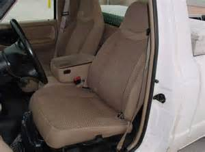 2000 Ford Ranger Seat Covers 2000 Mazda B Series Genuine Leather Seat Covers