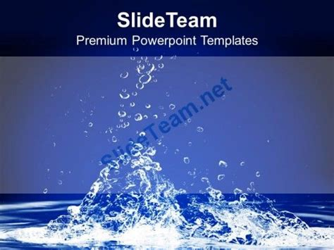 save powerpoint template as theme 0313 save water save conservation powerpoint