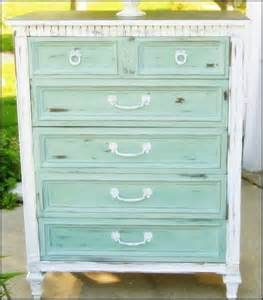 teal drawers with white distressed diy dressers etc