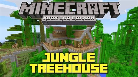 how to make a cool treehouse in minecraft minecraft xbox 360 cool jungle treehouse tu12 creation