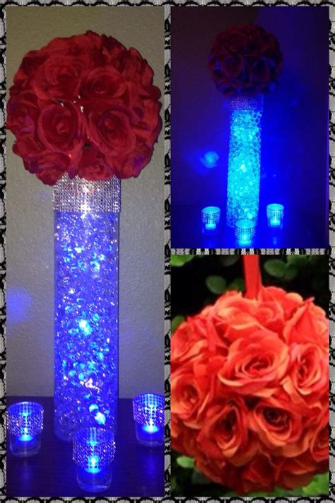 the 25 best led centerpieces ideas on lighted