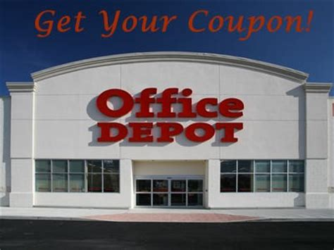 Office Depot Coupons Survey Www Officemax Feedback Acquire A Coupon For Your